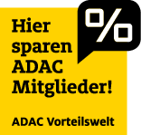 Günstiges Parken für ADAC Mitglieder