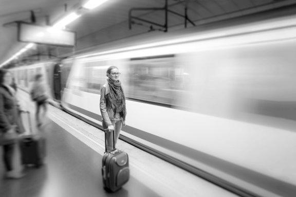Mit dem Airport-Express zum Flughafen Berlin-Brandenburg