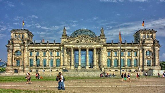 Německý Bundestag v Berlíně – jedna z mnoha památek