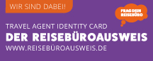 Travel agency ID – discounts for people from the tourism industry