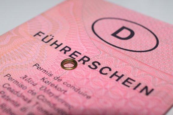 Der rosa EG-Führerschein